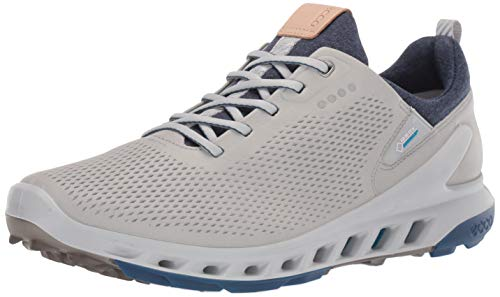ECCO Men's Biom Cool Pro Gore-TEX Golf Shoe, Concrete Yak Leather, 44 M EU (10-10.5 US)