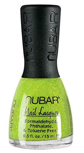 Nubar Mode Nagellack lemon lime crush, 1er Pack (1 x 15 ml)
