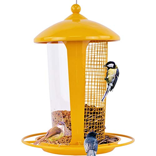 HXiaDyG Vogelvoederbak Vogelvogel Vogel Lijster Duif Vogeltrog Automatische Vogelvogel Vogelvoederopknoping