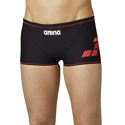 arena(アリーナ) トレーニング用水着 メンズ TOUGHSUITシリーズ ショートボックス SAR-0101 BKRD(Kブラック×レッド×レッド) M