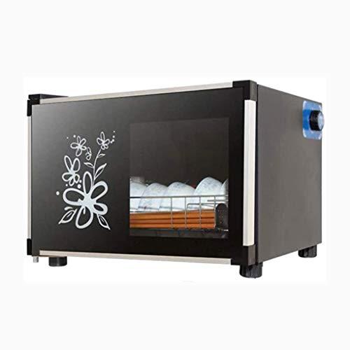 YangJ Kleiner Desktop, Tassen Teeservice und Tassen Trocknen Büro Mini Geschirr Milchflaschen Infrarot Desinfektionsschrank, Spannung: 220V / Leistung: 200W
