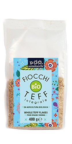 Sottolestelle Fiocchi di Teff - 8 confezioni da 400gr - Totale 3.2 kg