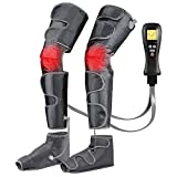 Leg-Massager for Circulation with Heat, Compression Calf Thigh Foot...