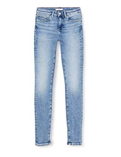 Tommy Hilfiger Damen Como Skinny Rw A Sara Straight Jeans, Blau (Sara 1bg), W26/L32