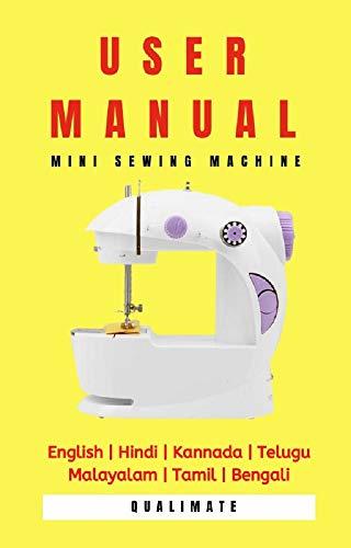 User Manual: Mini Sewing Machine: English | Hindi | Kannada ...
