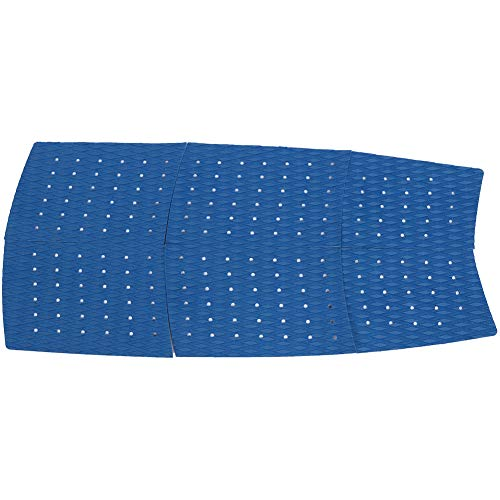 Weikeya Parte Delantera Tracción Estera, 125 cm Eva Diamante Ranura Patrón Químicos Corrosión (Azul)