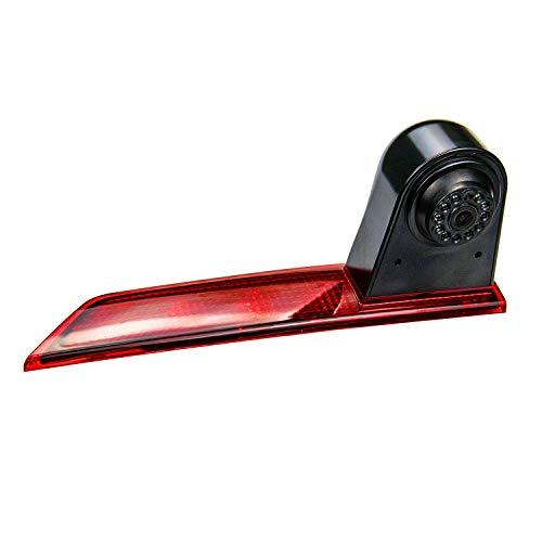 Cámara HD 720p 3rd luz de freno, cámara de aparcamiento, resistente al agua, visión nocturna, cámara de visión trasera para Transporter para D Transit Custom V362 2012-2020