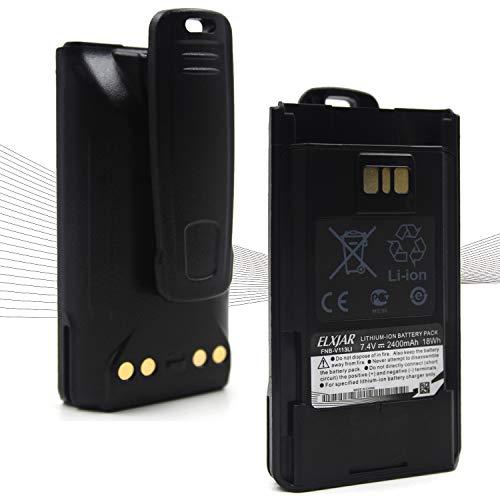 (2-PACK) 7.4V 2400MAH FNB-V113LI LI-ION TWO WAY 라디오 배터리 VX-450 VX-451 VX-454 EVX-261 EVX-531 AAJ67X001 EVX-534 FNB-V112