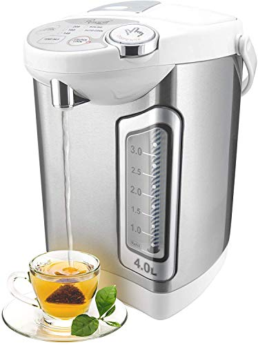 Rosewill Electric Hot Water Boiler and Warmer, 4.0 Liter Hot Water Dispenser, Stainless...
