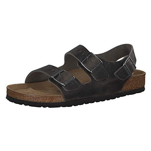 Birkenstock Milano Fettleder Iron - Sandals Men