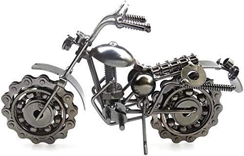 Zeyujie Retro Motorcycle Model Metal Decorat Iron Very popular Wrought Manufacturer OFFicial shop Crafts