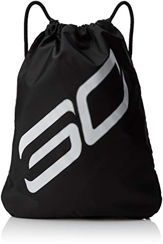 Under Armour SC30 Ozsee Sackpack, Black (001)/White, One Size Fits all