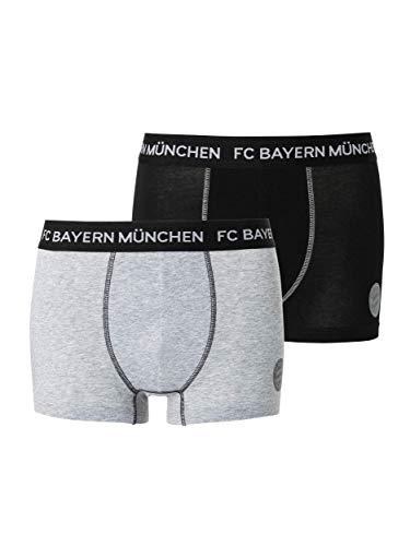 FC Bayern München Retro-Shorts Herren, 2er Set Boxershorts Unterhosen, Größe 6