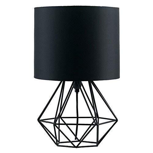 XinQing Lámparas de araña Diamond Lámpara De Mesa De La Sección De Tela Lámpara De Pie Moderna De Hierro Forjado