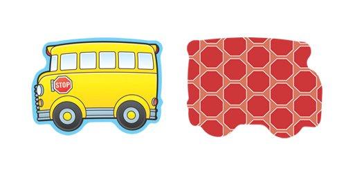 Carson Dellosa – School Buses Mini Colorful Cut-Outs, Classroom Décor, 36 Pieces