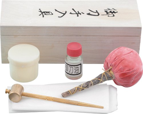 BladesUSA Jl-600 Sword Cleaning Kit Includes 1 Bottle Of Choji Oil Rice Papers 1 Uchiko
