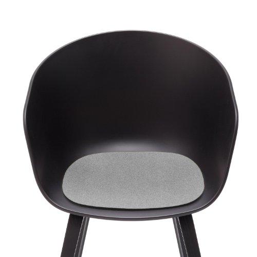 Sitzauflage - Filzauflage About A Chair AAC22 / AAC 22 Hellmeliert Hey Sign