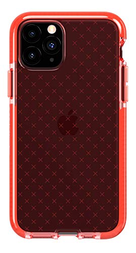 tech21 Evo Check Phone Case for iPhone 11 Pro - Coral - Antimicrobial Properties with 12ft Drop Protection