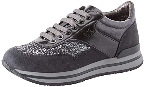 Lumberjack Like, Sneaker Donna, Grigio (Dk Grey Cd004), 36 EU