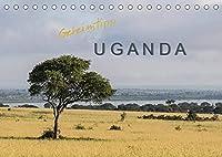 Geheimtipp Uganda (Tischkalender 2022 DIN A5 quer): In Uganda begegnet man viel Natur aber (noch) wenig Touristen. (Monatskalender, 14 Seiten )
