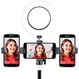 Sunpak Vlogging 6' Ring Light with Boya Microphone & Bluetooth Remote