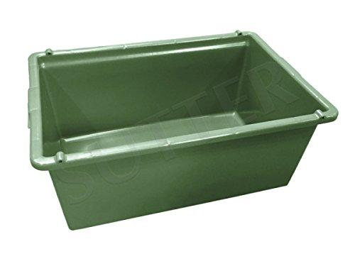 SUTTER Wildwanne/Transportwanne für den Wild-Transport im Kofferraum / 80 Liter / 76x50x32cm / lebensmitteltauglich