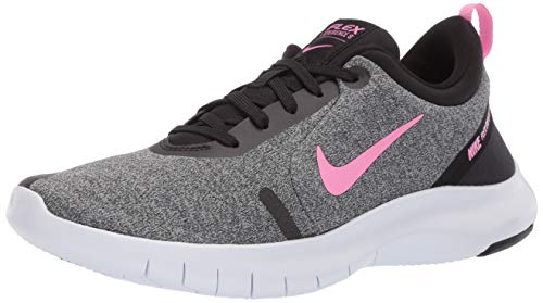 Nike Women's Flex Experience Run 8 Shoe, Pure Platinum/Psychic Pink/Black, 8.5 Regular US