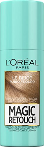 L'Oreal Paris Magic Retouch Spray Retoca Raíces, Tono: Rubio - 75 ml