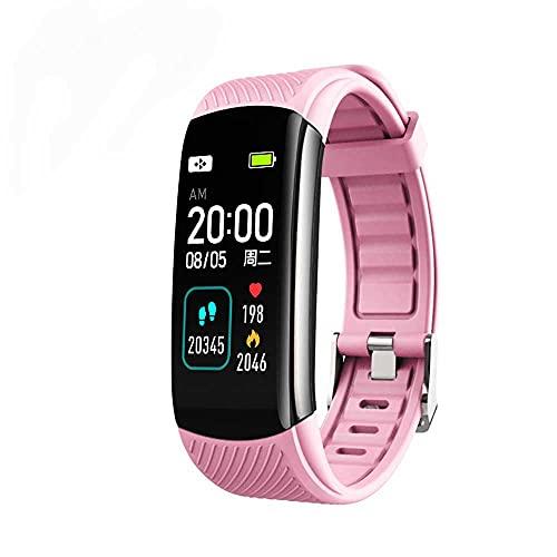 AXB Pulsera Actividad Inteligente, Reloj Inteligente Deportivo Impermeable IP67 para Hombre Mujer niños Smartwatch con Pulsómetros Monitor de Sueño Caloría Podómetro