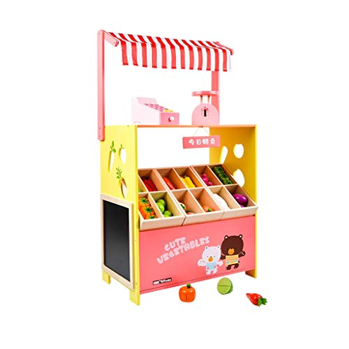 LIUJING Kitchen Toy Set Happy Little Chef Pretends To Play With Toys, Kitchen Set, Toy Kitchen Accessories, Vegetable Vending Machine Toy fashion