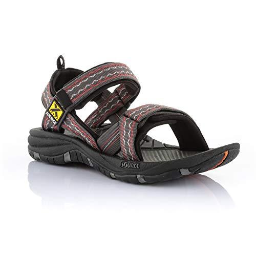 Source Gobi sandalen heren, Oosterse bruin/rood, 44