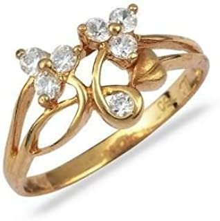 eb6cc5410d4a1 Amazon.in: Gold Plated - Rings / Women: Jewellery