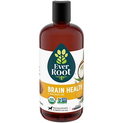 EverRoot Natural, Organic Dog Supplement Oil, Brain Health - 16 oz. Bottle
