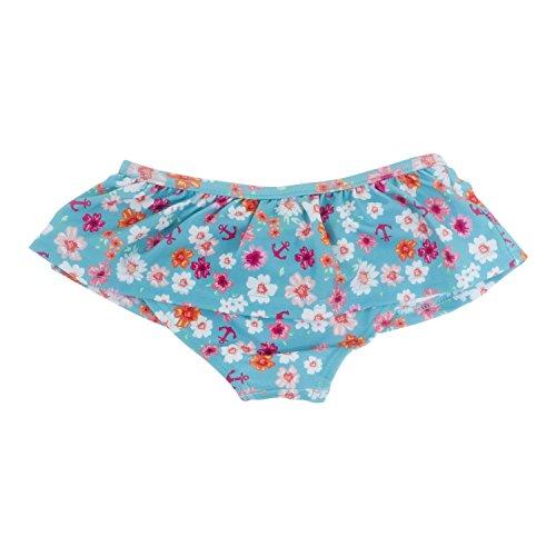 Baby Banz Costume Da Bagno Slip Mare, Bambina ANTI-UV, Flowers, 8 Anni.