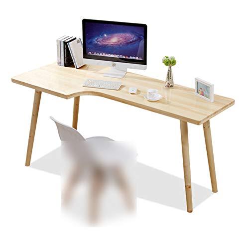 FXPCYGZ Computertisch Eckschreibtisch In L-Form, GroßEr Gaming Schreibtisch Pc Tisch Winkelkombination Arbeitstisch BüRotisch, Massivholz Eckschreibtisch Computertisch Moderner Minimalistischer(A)