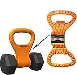 YLCJ Kettle Bells Mancuerna Conversión Mango Fitness Grip Peso Ejercicio Fácil de...