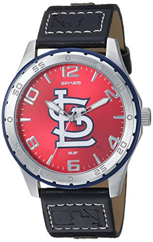 Rico Industries MLB St. Louis Cardinals WatchWatch Gambit Style, Team Colors, One Size