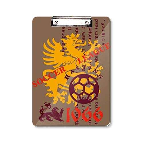 Middeleeuwen Dragon Soccer League Klembord Map Schrijven Pad Backing Plate A4