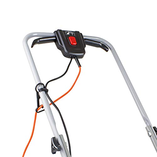 Hyundai HYM3300E 33cm Electric Lawn Mower & Roller, Blue