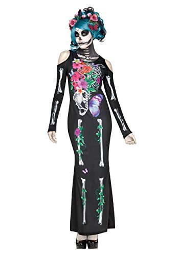 Women's Beautiful Bones Fancy Dress Costume Small/Medium