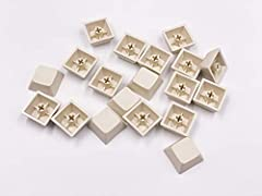 ❤This XDA keycap set contain 37 pcs keycaps(37 1U blank keycaps) ❤This Keycap set is blank keycap,the material of this keycap set is PBT,thickness of these keycaps is about 1.5mm, and the height is XDA profile ❤It can be used for most Cherry MX Gater...