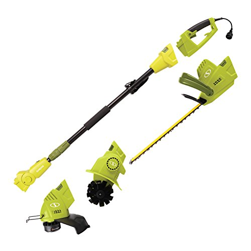Save %9 Now! Sun Joe GTS4000E Lawn + Garden Multi-Tool Care System, Green