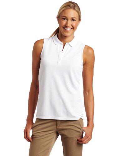 Columbia Women's Innisfree SL Polo Fishing Shirt (White, Medium)