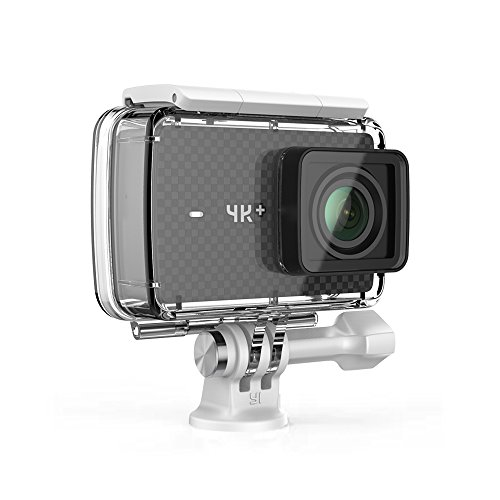 YI 4K Plus Action Camera con Custodia Impermeabile 4K/60fps Nero