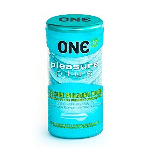 ONE Condoms Pleasure Plus, 12 Pack