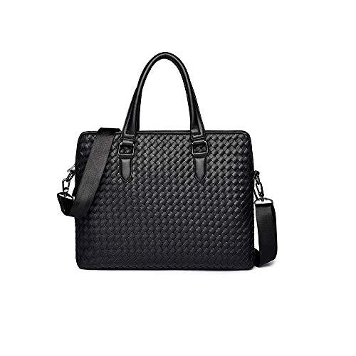ZZYJYALG Bolsas de Crossbody para Mujeres Retro Bolso Cross Woven Handbag Ocio Cartera de ocio Portátil Messenger Bag Bolsa de oficina de negocios para hombres mujeres para hombre hermoso y práctico