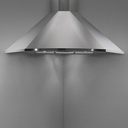 Falmec - Cappa ad Angolo Futura in Acciaio Inox da 100cm e Potenza 600m3/h