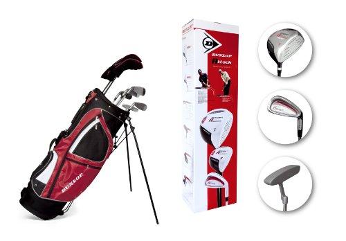 Dunlop Attack Pack débutant Starter avec clubs de golf homme Rouge