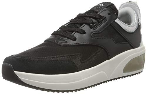Replay Damen Flow-SHELFORD Sneaker, Schwarz (Black 3), 38 EU