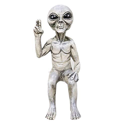 Sonline Estatua AlieníGena del Espacio Exterior Juego de Es